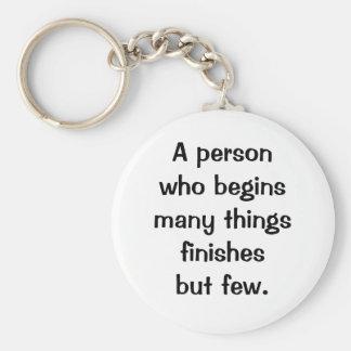 Italian Proverb Keychain No. 58