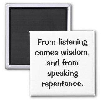 Italian Proverb Magnet No.39