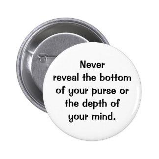 Italian Proverb No.117 Button