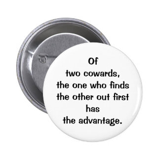 Italian Proverb No.127 Button