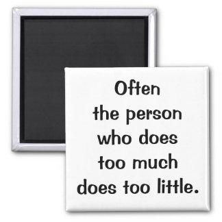 Italian Proverb No.129 Magnet