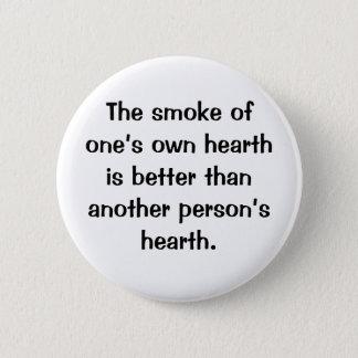 Italian Proverb No.177 Button