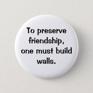 Italian Proverb No.186 Button