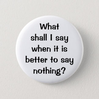 Italian Proverb No.196 Button