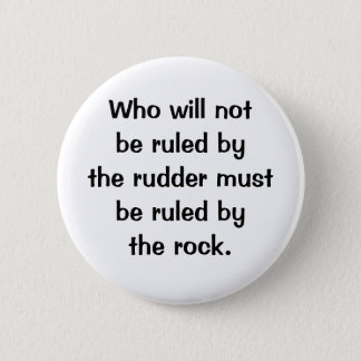 Italian Proverb No.217 Button