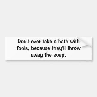 Italian Proverb No.27 Bumper Sticker