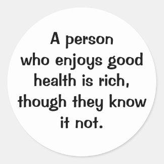 Italian Proverb Sticker No.60