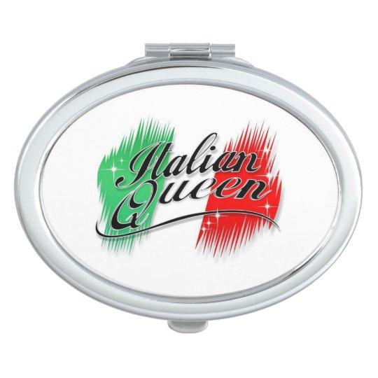 Italian Queen Compact Mirrors