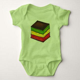 Italian Rainbow Seven 7 Layer Christmas Cookie Baby Bodysuit