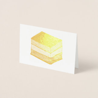 Italian Rainbow Seven 7 Layer Christmas Cookie Foil Card