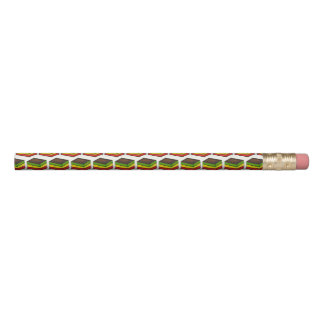 Italian Rainbow Seven Layer Christmas Food Cookie Pencil