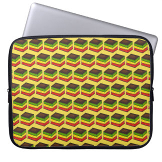Italian Rainbow Seven Layer Christmas Xmas Cookie Laptop Sleeve
