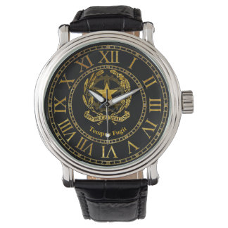 Italian Republic Gold Personalize Watch