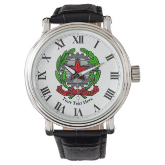 Italian Republic Personalize Watch