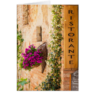 Italian Restaurant Card