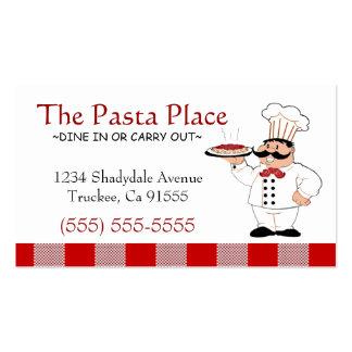 Italian Restaurant | Pizza Business Business Card
