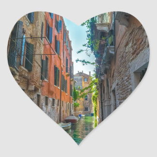 Italian River Heart Sticker