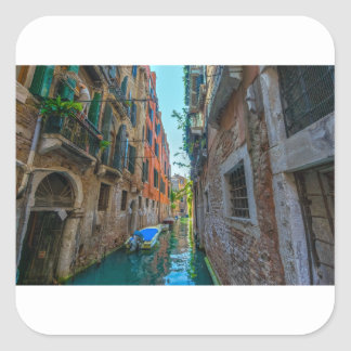 Italian River Square Sticker