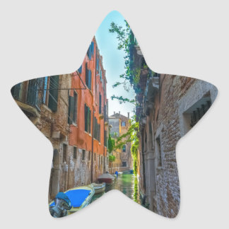 Italian River Star Sticker