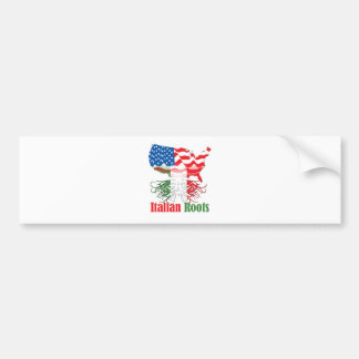 italian roots bumper sticker