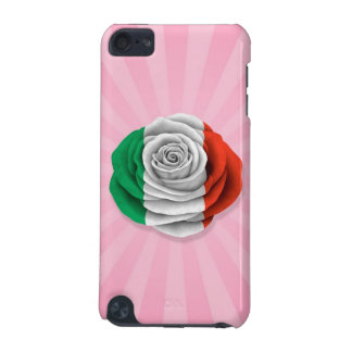 Italian Rose Flag on Pink iPod Touch 5G Case