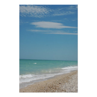 Italian seaside poster