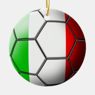 Italian Soccer Ornament