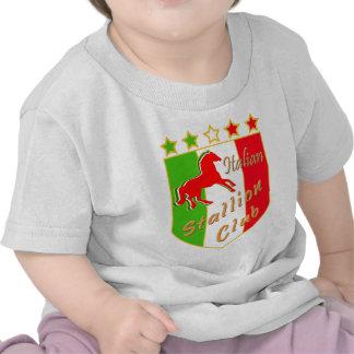 Italian Stallion Club Crest Tees
