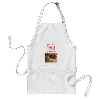 italian standard apron