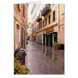 Italian Streets Card