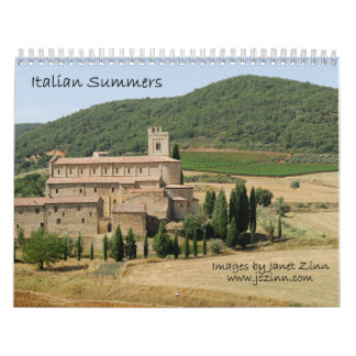 Italian Summers Calendar