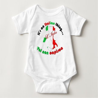 Italian Thing Baby Bodysuit