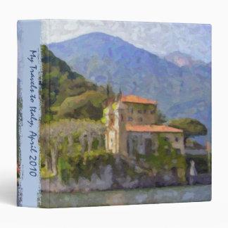 Italian Travel and Recipe Binder