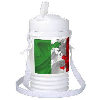 Italian Tricolor boot Drinks Cooler