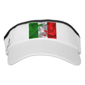 Italian Tricolor boot Visor