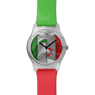 Italian Tricolor boot Watch