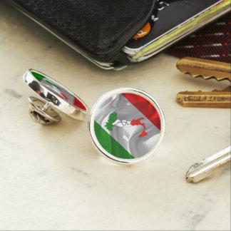 Italian Tricolor Lapel Pin