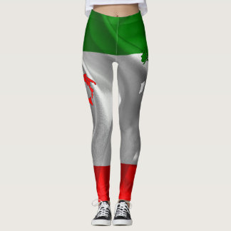 Italian Tricolor Leggings