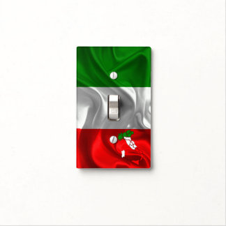 Italian Tricolor Light Switch Cover