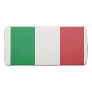 Italian tricolore country flag of Italy custom Eraser
