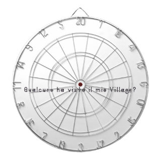 Italian-Village Dartboard