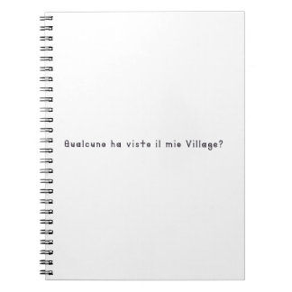Italian-Village Notebooks