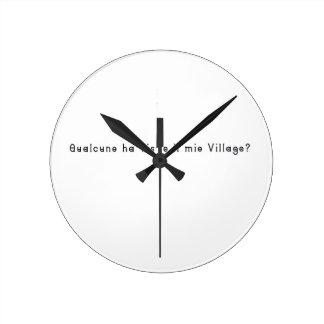 Italian-Village Wall Clocks