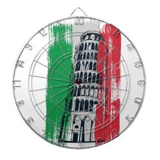italian vintage statue dartboard