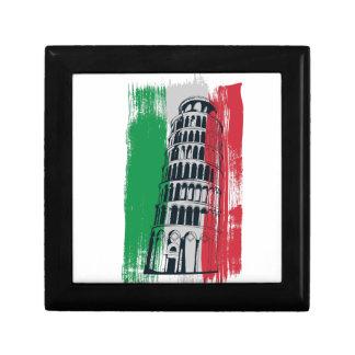 italian vintage statue gift box