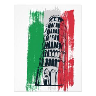 italian vintage statue letterhead