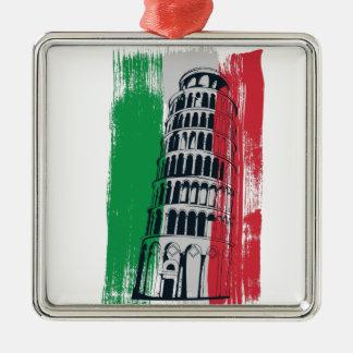 italian vintage statue metal ornament
