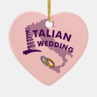 Italian Wedding Ornament