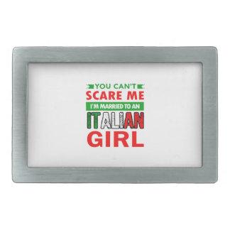 Italian Wife Wife Belt Buckles