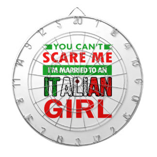 Italian Wife Wife Dartboard